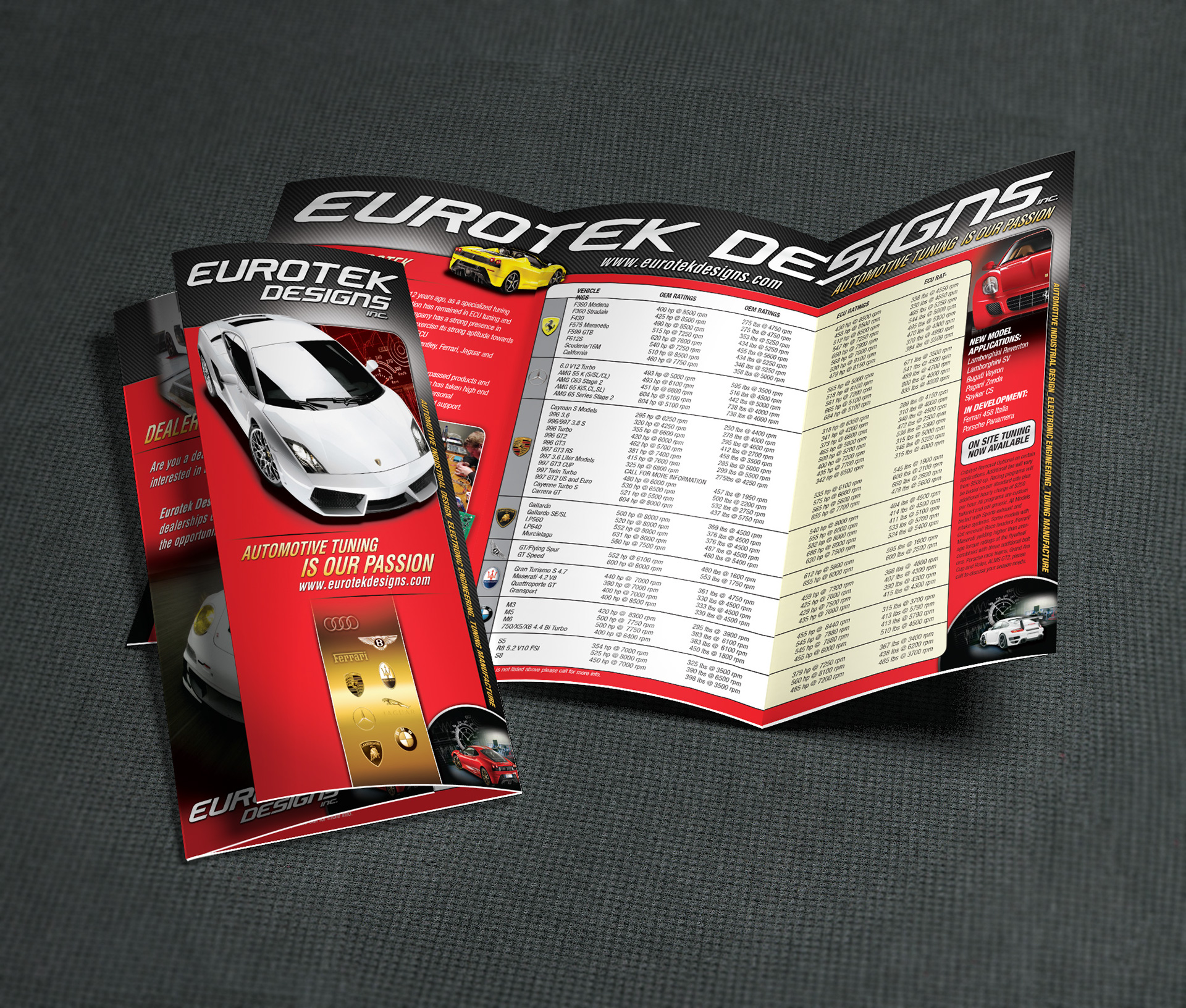 Trifold Eurotek Designs - by Projekt Group Marketing