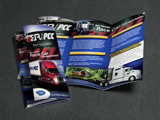 Marketing / Branding – FSR/PCC Race Car Transportation