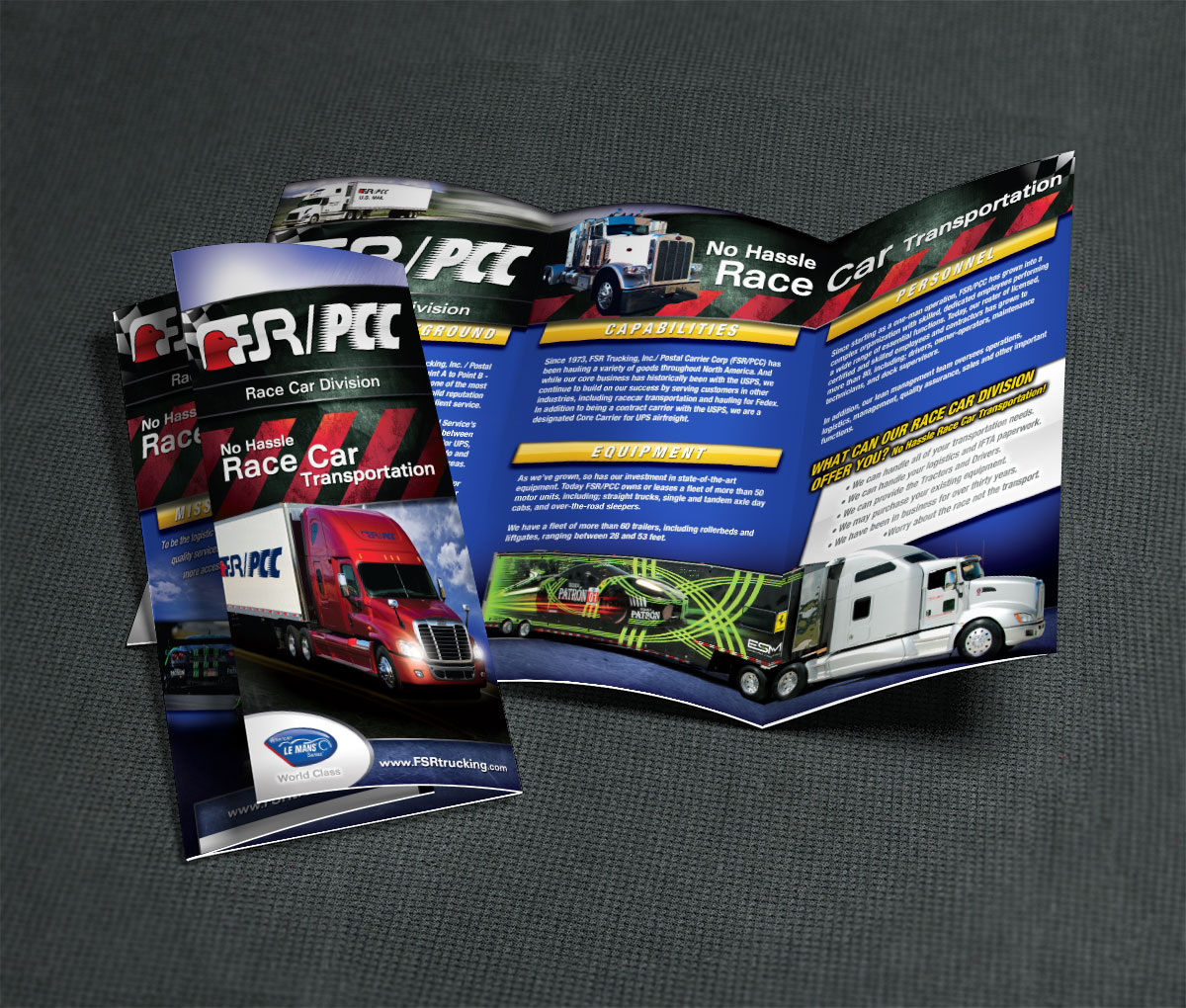 Trifold FSR/PCC Race Car Transportation - by Projekt Group Marketing