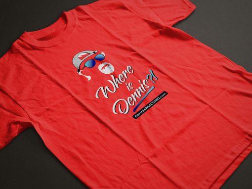 Branding – T-shirt Design – Dennis Macchio Racing