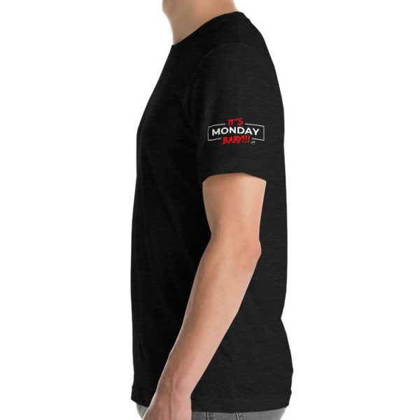 It's Monday Baby t-shirt - sleeve left - Projekt Group Marketing