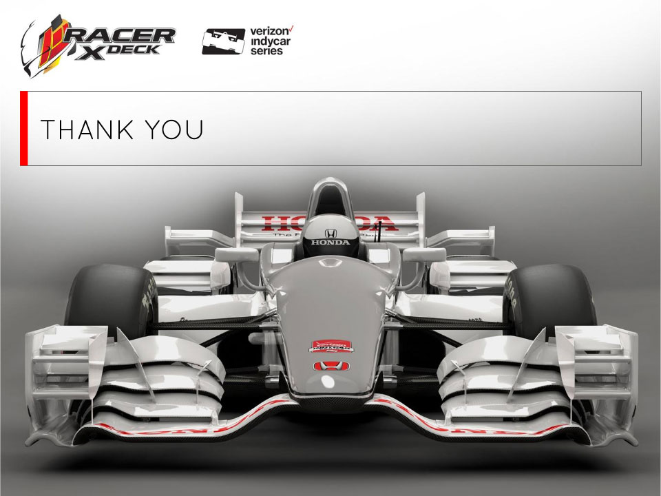 Racer X sponsorship deck template - Projekt Group Marketing - cover image