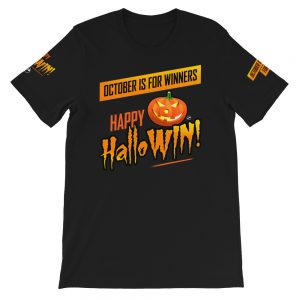 Happy HalloWin t-shirt - sleeve - Projekt Group Marketing