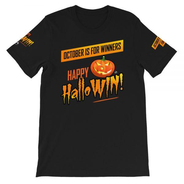 Happy HalloWin t-shirt - sleeve - Projekt Group Marketing