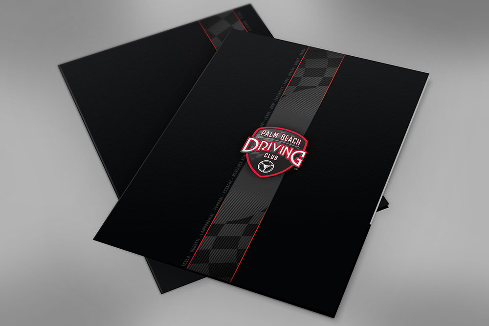 Folder Palm Beach Driving Club - by Projekt Group Marketing