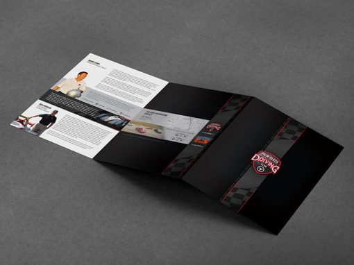 Marketing / Branding – Brochure, Trifold, Folder – Palm Beach Driving Club