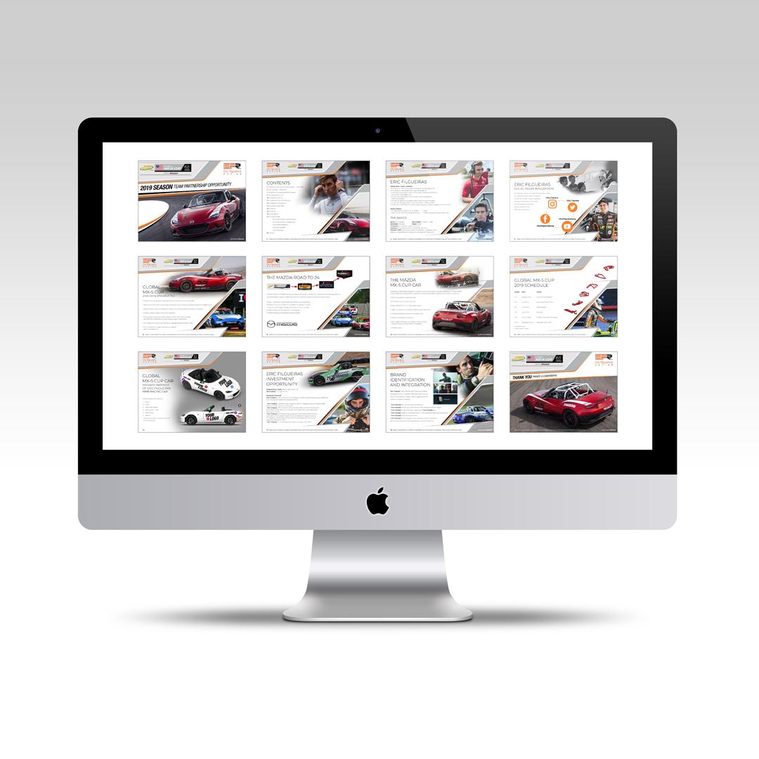 Eric Filgueiras Racing - Sponsorship Deck - Projekt Group