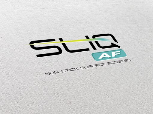 Branding, Label Design – SliqAF product – Ceramic DNA