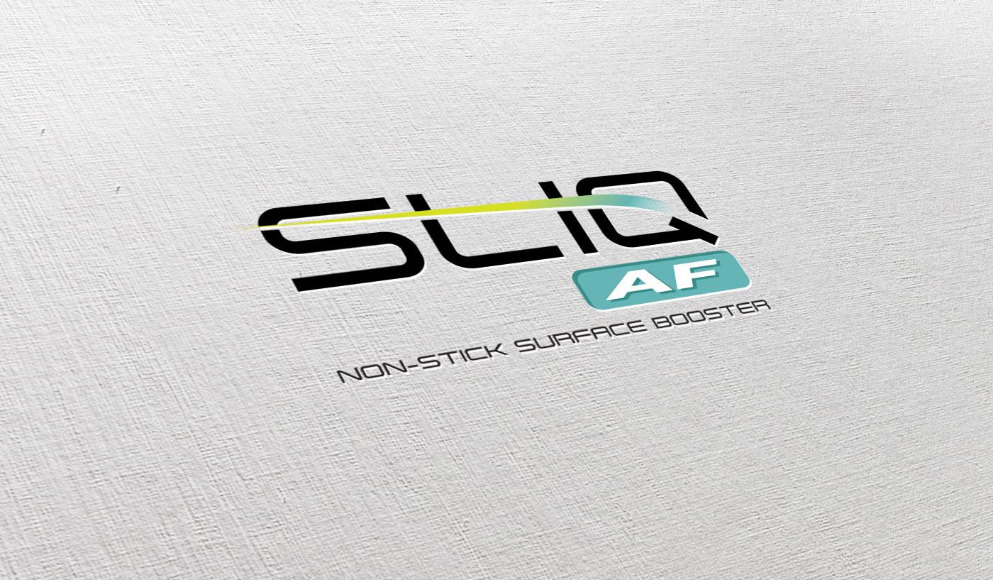 Branding, Label Design - SliqAF product - Ceramic DNA