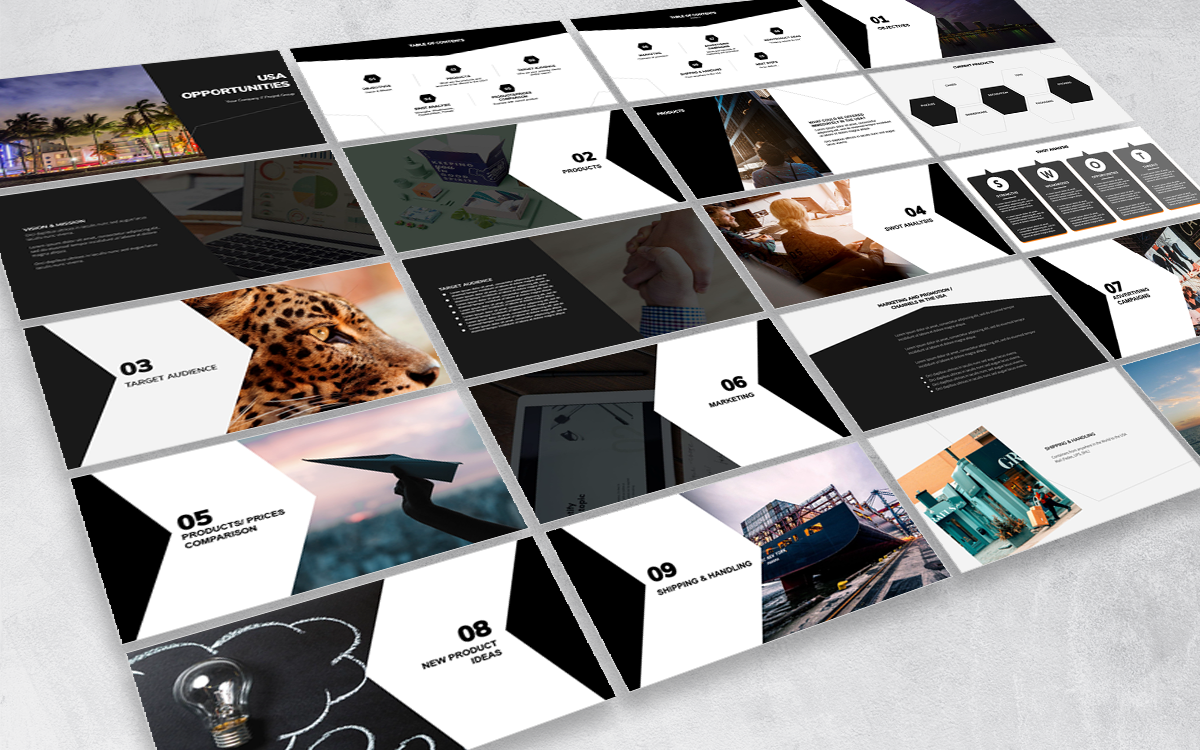 Projekt Group - Deck and Presentation templates and design