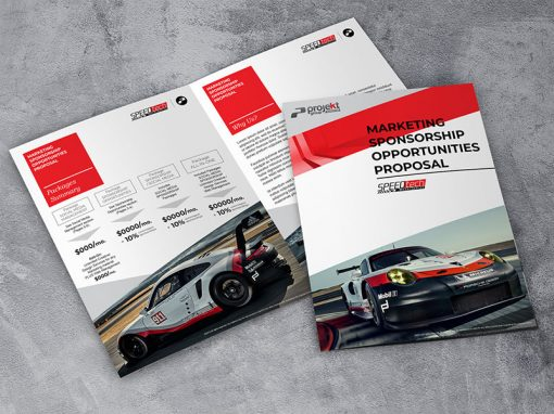 Marketing / Branding – Brochure, Proposal – SpeedTech (Sample)