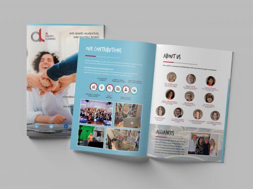 Marketing / Branding – Brochure – AL Grupo Humano